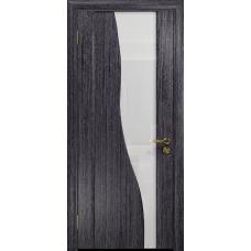 Ульяновская дверь Торелло абрикос стекло триплекс белый