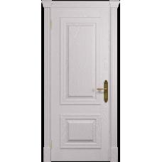 Ульяновская дверь Кардинал ясень белый глухая