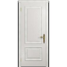 Ульяновская дверь Версаль-1 ясень белый глухая