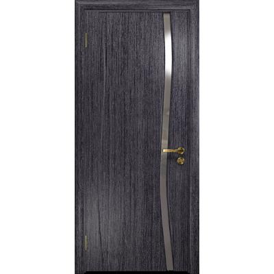Ульяновская дверь Грация-1 абрикос стекло триплекс зеркало