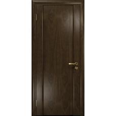 Ульяновская дверь Триумф-1 американский орех тонированный глухая