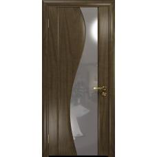 Ульяновская дверь Фрея-2 американский орех стекло триплекс зеркало