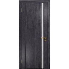Ульяновская дверь Триумф-1 абрикос стекло триплекс белый
