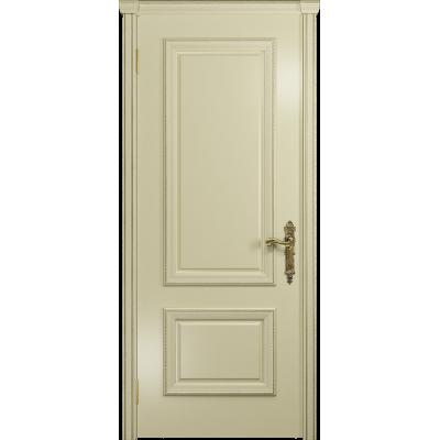 Ульяновская дверь Версаль-1 эмаль слоновая кость глухая