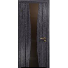 Ульяновская дверь Соната-2 абрикос стекло триплекс бронзовый