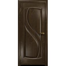 Ульяновская дверь Диона-1 американский орех тонированный глухая