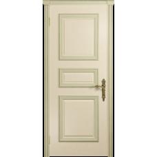 Ульяновская дверь Версаль-3 ясень слоновая кость глухая