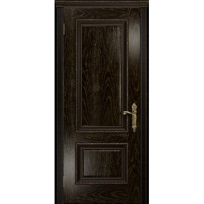 Ульяновская дверь Версаль-1 ясень венге золото глухая