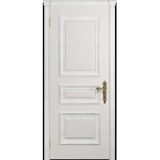 Ульяновская дверь Версаль-2 Декор ясень белый глухая