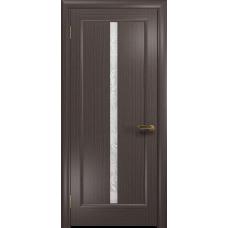 Ульяновская дверь Миланика-2 эвкалипт стекло белое пескоструйное «миланика-2»