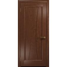 Ульяновская дверь Соната-1 красное дерево глухая