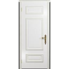 Ульяновская дверь Версаль-4 эмаль белая глухая