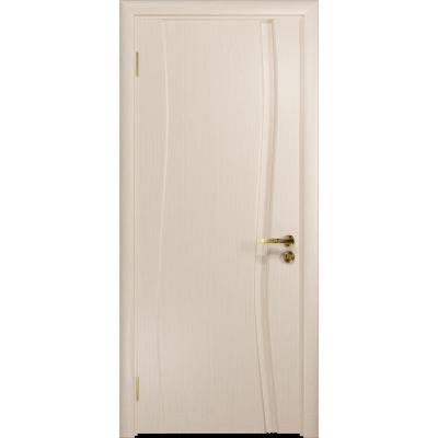 Ульяновская дверь Грация-1 дуб беленый глухая