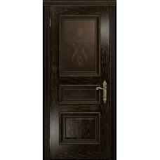 Ульяновская дверь Версаль-2 Декор ясень венге золото стекло бронзовое пескоструйное «версаль-2»