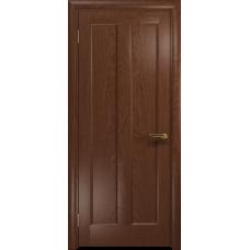 Ульяновская дверь Тесей красное дерево глухая