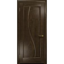 Ульяновская дверь Фрея-1 американский орех тонированный глухая