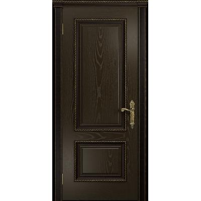 Ульяновская дверь Версаль-1 Декор ясень венге глухая