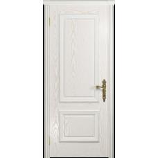 Ульяновская дверь Версаль-1 ясень белый золото глухая