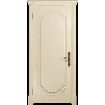 Ульяновская дверь Валенсия-2 ясень слоновая кость глухая