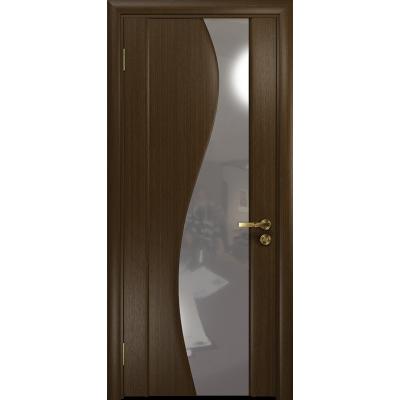 Ульяновская дверь Фрея-2 венге стекло триплекс зеркало