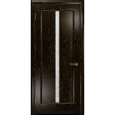 Ульяновская дверь Миланика-2 ясень венге золото стекло белое пескоструйное «миланика-2»