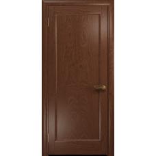 Ульяновская дверь Миланика-1 красное дерево глухая