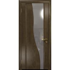 Ульяновская дверь Торелло американский орех стекло триплекс зеркало