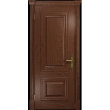 Ульяновская дверь Кардинал красное дерево глухая