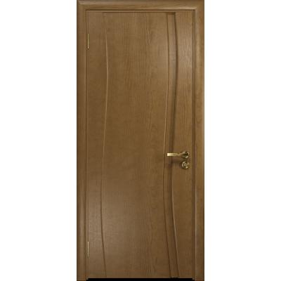 Ульяновская дверь Грация-1 ясень античный глухая