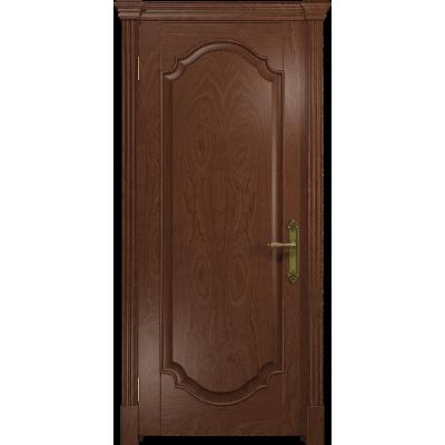 Ульяновская дверь Валенсия-2 красное дерево глухая
