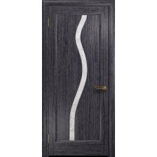 Ульяновская дверь Миланика-4 абрикос стекло белое пескоструйное «миланика-4»