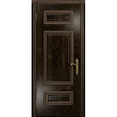 Ульяновская дверь Версаль-4 ясень венге золото глухая