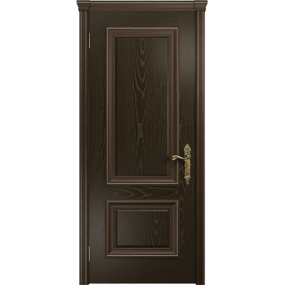 Ульяновская дверь Версаль-1 ясень венге глухая