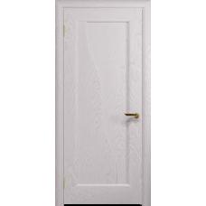 Ульяновская дверь Торино ясень белый глухая