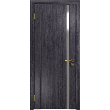 Ульяновская дверь Триумф-1 абрикос стекло триплекс зеркало