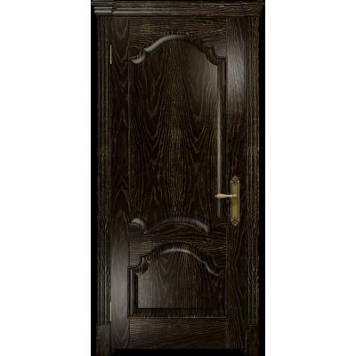 Ульяновская дверь Валенсия-1 ясень венге золото глухая