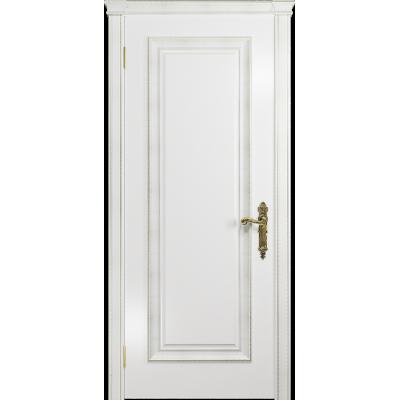Ульяновская дверь Версаль-5 Декор эмаль белая глухая