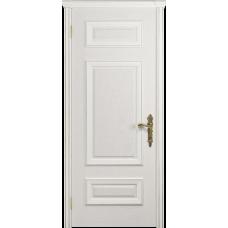 Ульяновская дверь Версаль-4 ясень белый глухая