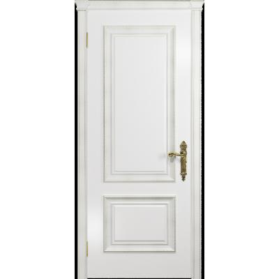Ульяновская дверь Версаль-1 эмаль белая глухая