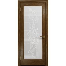 Ульяновская дверь Миланика-1 сукупира стекло белое пескоструйное «миланика-1»