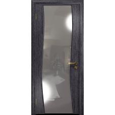 Ульяновская дверь Грация-3 абрикос стекло триплекс зеркало