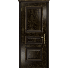Ульяновская дверь Версаль-2 Декор ясень венге золото глухая