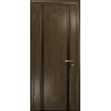Ульяновская дверь Триумф-2 американский орех стекло триплекс бронзовый