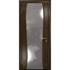 Ульяновская дверь Портелло-2 американский орех тонированный стекло триплекс зеркало