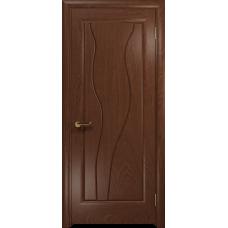 Ульяновская дверь Энжел красное дерево глухая
