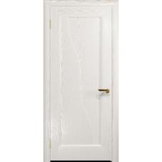 Ульяновская дверь Торино ясень белый золото глухая