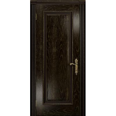 Ульяновская дверь Версаль-5 Декор ясень венге золото глухая