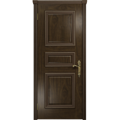 Ульяновская дверь Версаль-3 американский орех тонированный глухая
