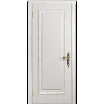 Ульяновская дверь Версаль-5 Декор ясень белый глухая