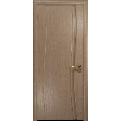 Ульяновская дверь Грация-1 дуб глухая